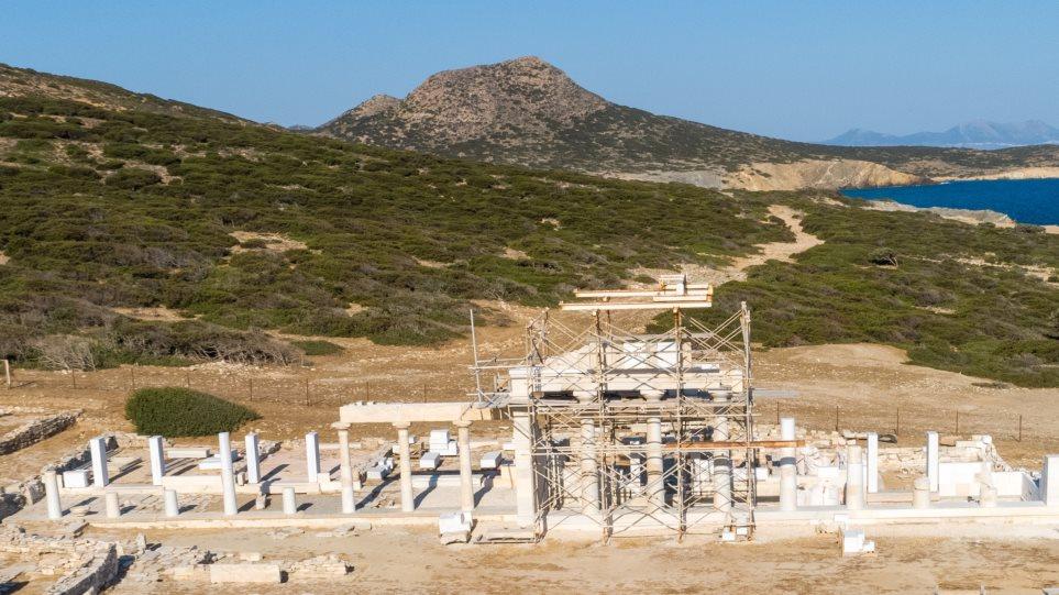 Святилище Аполлона на острове Делос, реставрация