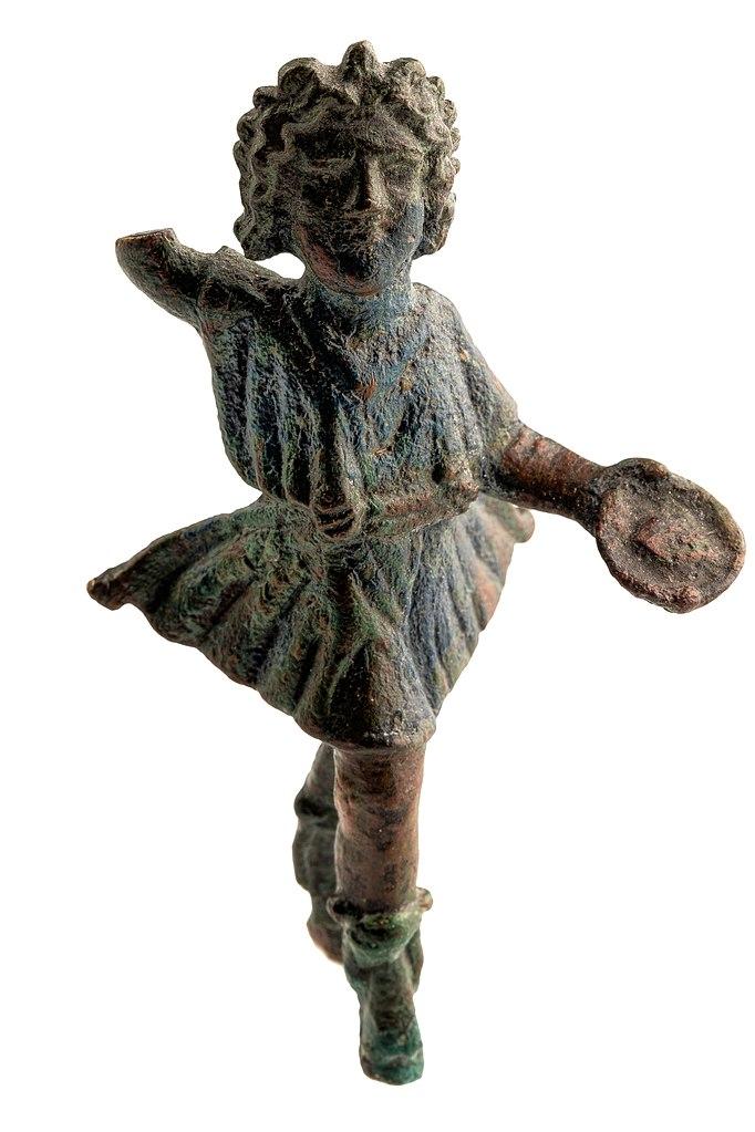 Бронзовая статуэтка лара, I-II вв. н.э.
