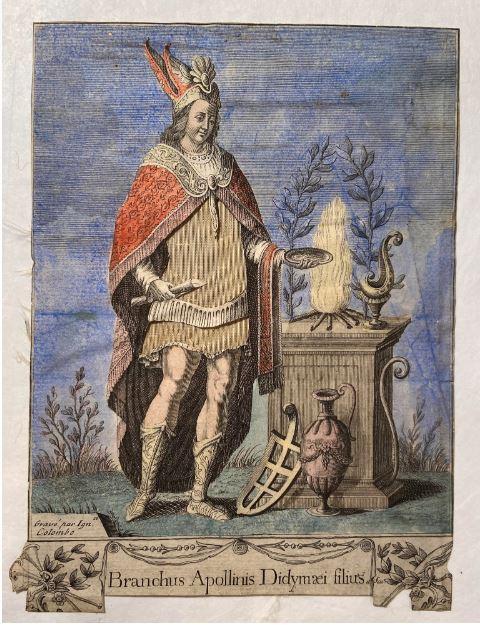 "Игнаций Коломбо, ""Бранх, сын и жрец Аполлона Дидимского"", ок. 1816"